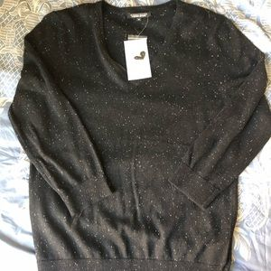 NWT Jeanne Pierre Cashmere Infused VNeck Sweater